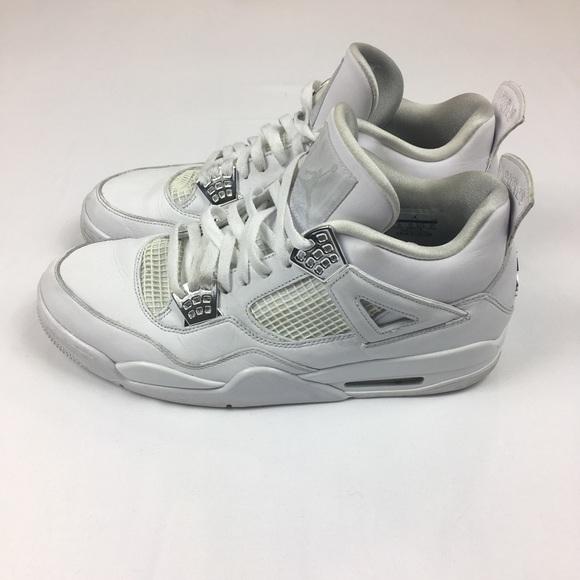 3a13e63d6066d7 Jordan Other - Jordan 4 IV 2017 white silver pure money Sz 13